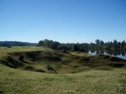 Large riverbank failure