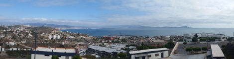 View of Ensenada bay from CICESE