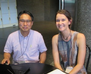 Meeting Professor Hironobu Kan Japan's spur and groove expert!