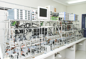 ANSTO's Graphitisation Laboratory.  Source: http://www.ansto.gov.au/ResearchHub/IER/Capabilities/AMS/index.htm