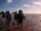 Reef walks with students